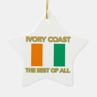 Ivory Coast design Christmas Ornaments