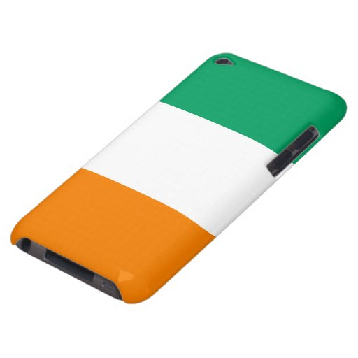 Ivory Coast Flag Barely There iPod Covers