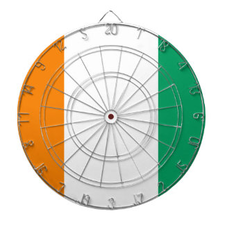 Ivory Coast Flag Dartboard