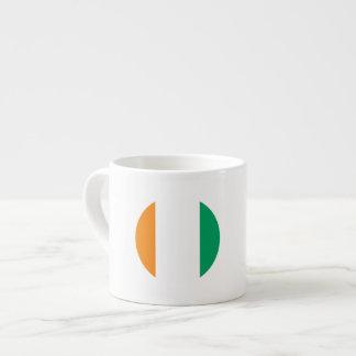 Ivory Coast Flag Espresso Cup
