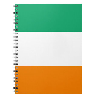 Ivory Coast Flag Spiral Notebook