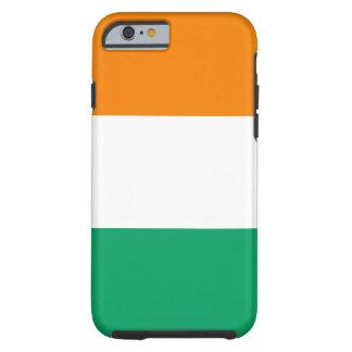 Ivory Coast National World Flag Tough iPhone 6 Case