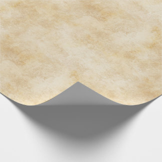 Ivory colored Rustic Texture Wrapping Paper