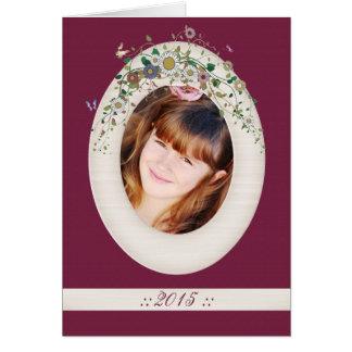 Ivory Frame - Photo Holiday Card