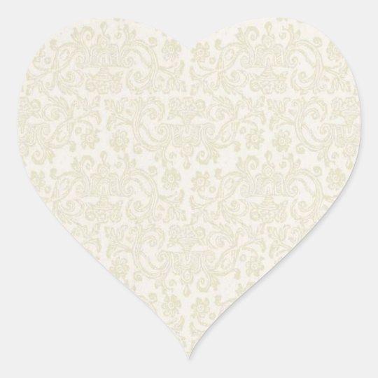 Ivory Lace Sticker