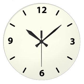 Ivory Numbered Clocks