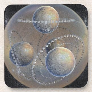 Ivory Planets Coaster