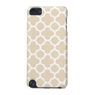 Ivory Quatrefoil Trellis Pattern iPod Touch 5G Case