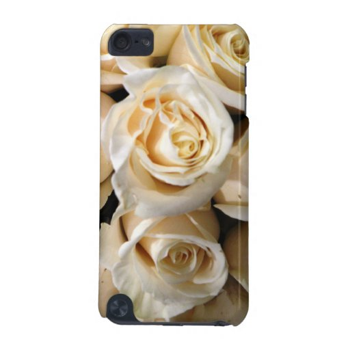 ivory Rose Bouquet iPod Touch Case