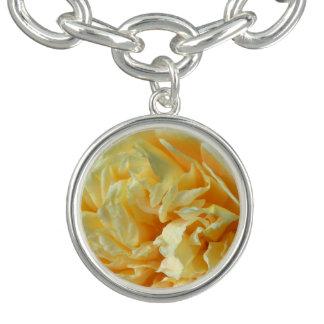 Ivory Rose Charm Bracelet
