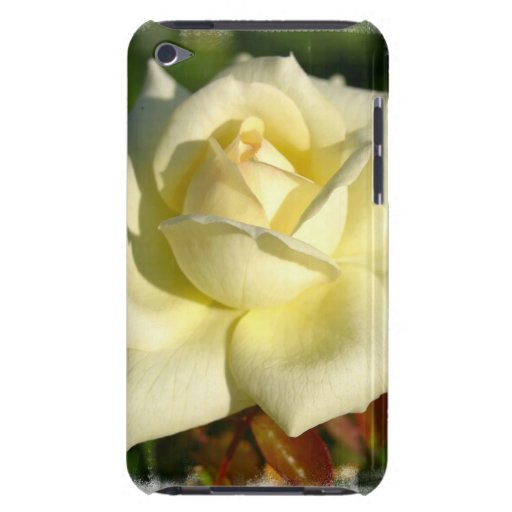 Ivory Rose iTouch Case Barely There iPod Covers