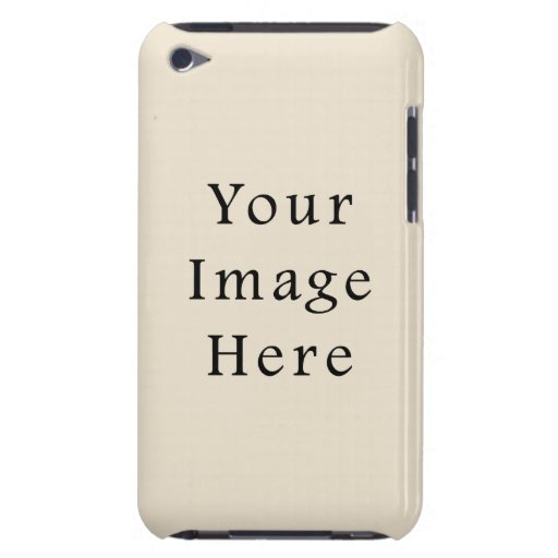 Ivory Sand Tan Color Trend Blank Template iPod Touch Covers