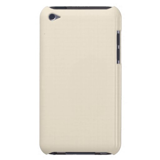 Ivory Sand Tan Color Trend Blank Template Barely There iPod Case