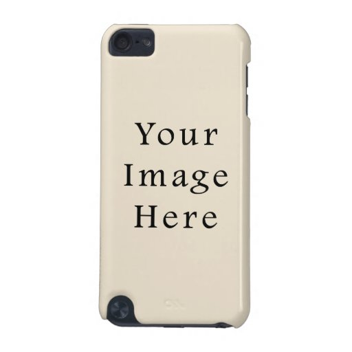 Ivory Sand Tan Color Trend Blank Template iPod Touch (5th Generation) Covers