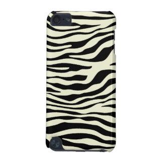 Ivory Zebra Stripes Animal Print iPod Touch (5th Generation) Case