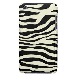 Ivory Zebra Stripes Animal Print iPod Touch Cases