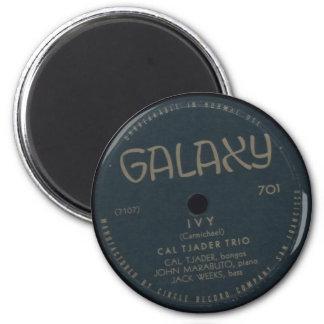 Ivy, Cal Tjader Trio Vintage Record Label Magnet