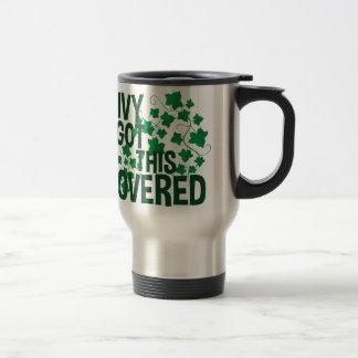 Ivy Covered Travel Mug