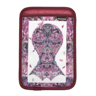 Ivy Creeper Fractal Head Art iPad Mini Sleeve