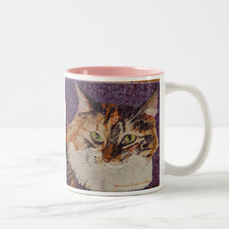 Ivy  Face Painting Two-Tone Coffee Mug