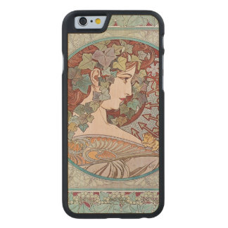 Ivy godess carved® maple iPhone 6 case