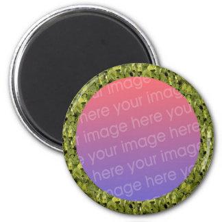 ivy leaves photo frame magnet