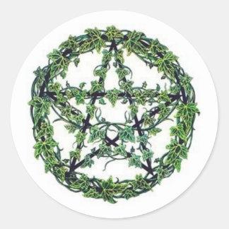 Ivy Pentacle Sticker