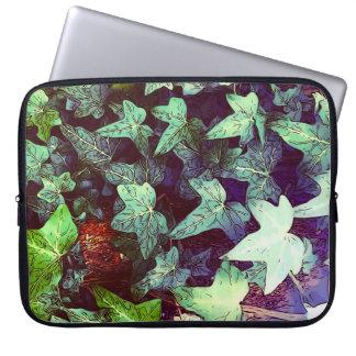 Ivy print sleeve