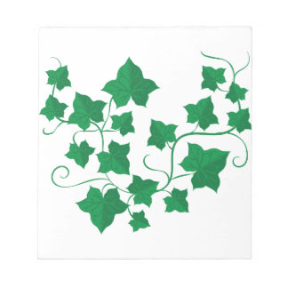 Ivy Vines Notepad