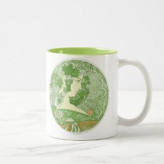 Ivy Vintage Mucha Art Mugs