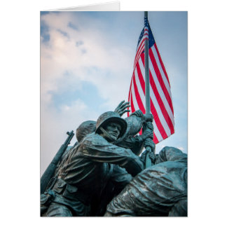 Iwo Jima Marine Card