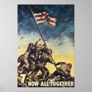 Iwo Jima: Marines Poster