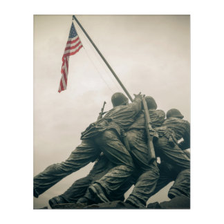 Iwo Jima Memorial in Washington DC Acrylic Print