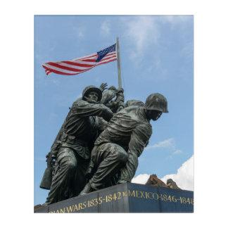 Iwo Jima Memorial in Washington DC Acrylic Wall Art