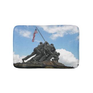 Iwo Jima Memorial in Washington DC Bath Mat