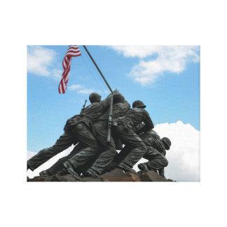 Iwo Jima Memorial in Washington DC Canvas Print