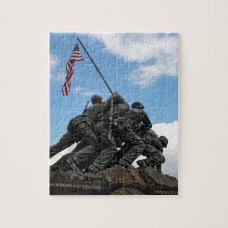 Iwo Jima Memorial in Washington DC Jigsaw Puzzle