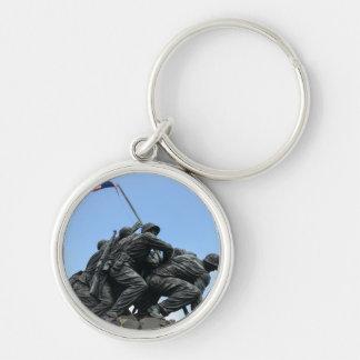 Iwo Jima Memorial in Washington DC Key Ring