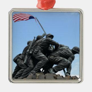 Iwo Jima Memorial in Washington DC Metal Ornament