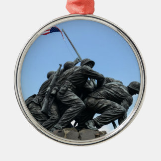 Iwo Jima Memorial in Washington DC Metal Ornament
