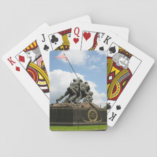 Iwo Jima Memorial in Washington DC Playing Cards