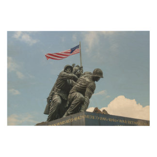 Iwo Jima Memorial in Washington DC Wood Wall Decor