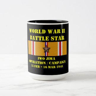 Iwo Jima Operation Campaign Two-Tone Mug