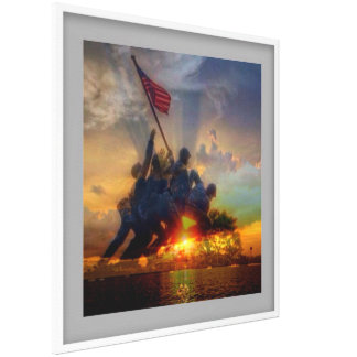 iwo jima picture canvas print
