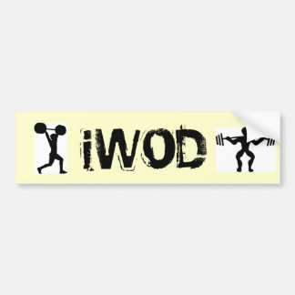 iWOD Bumper Sticker