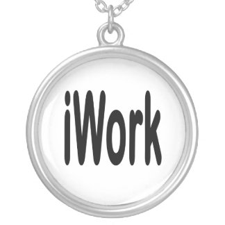 iwork design black text pendants