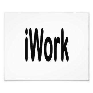 iwork design black text art photo