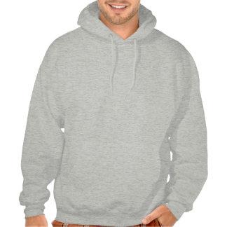 IXOYE Acrostic Red Hooded Sweatshirt