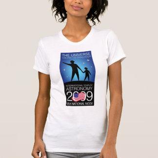 IYA2009 - US Node: Ladies AA Cap Sleeve (Fitted) T-Shirt