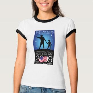 IYA2009 - US Node: Ladies Ringer T-Shirt